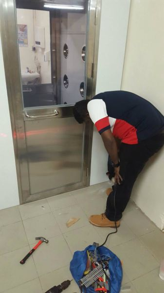 Air Shower Room and Installation Air Shower Room Johor Bahru (JB), Johor, Malaysia, Johor Jaya Supplier, Supply, Rental, Repair | AS Cleaning Equipment