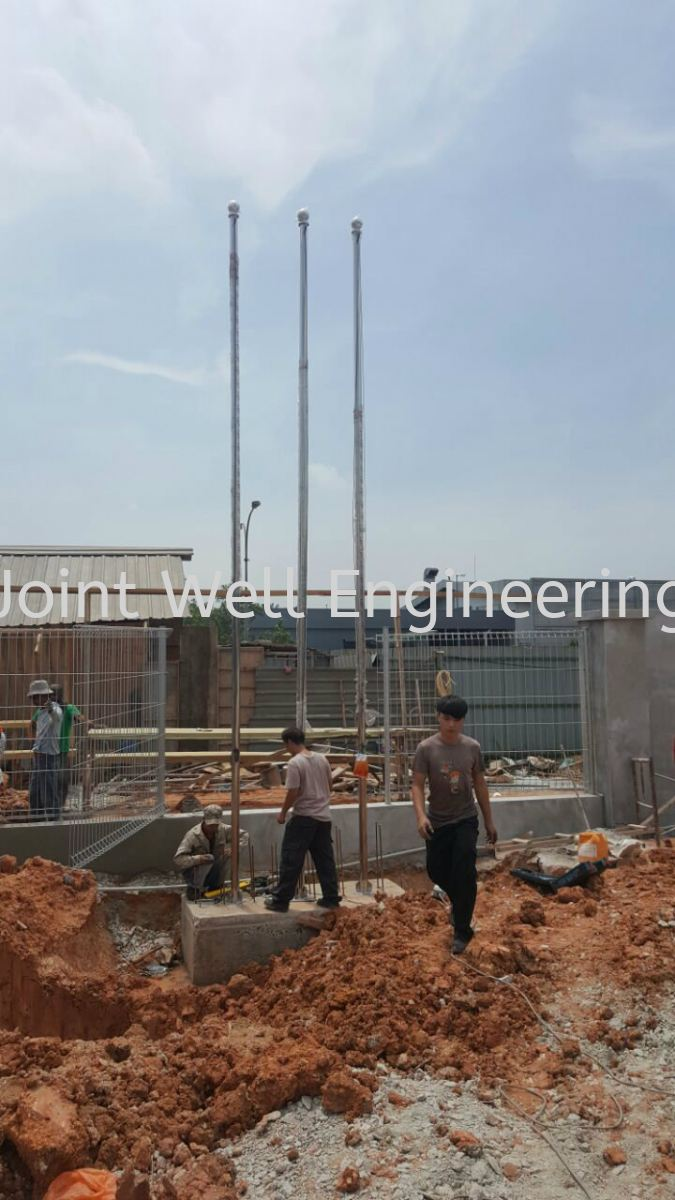 Installation Flagpole Others Product  Johor Bahru (JB), Johor Installation, Supplier, Supplies, Supply | Joint Well Engineering