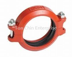 Flexible Coupling Style 75 Grooved Pipe Fitting Pipe Fittings Penang, Malaysia Supplier, Suppliers, Supply, Supplies | Tan Chin Enterprise