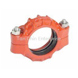 Flexible Coupling Style 77 Grooved Pipe Fitting Pipe Fittings Penang, Malaysia Supplier, Suppliers, Supply, Supplies | Tan Chin Enterprise