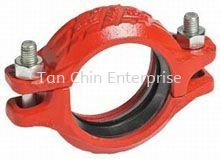 Rigid Coupling Style 07 Grooved Pipe Fitting Pipe Fittings Penang, Malaysia Supplier, Suppliers, Supply, Supplies | Tan Chin Enterprise