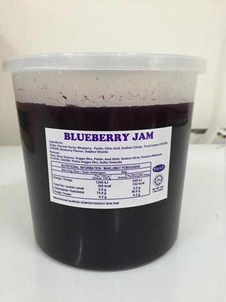 Blueberry Jam Selangor, Puchong, Malaysia Supply, Supplier, Supplies | Alunan Sena Sdn Bhd