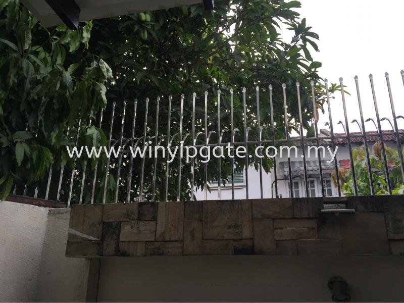 Stainless Steel Fencing Selangor, Malaysia, Balakong, Kuala Lumpur (KL) Service, Supplier, Supply, Installation | Win Yip Gate & Roof Sdn Bhd
