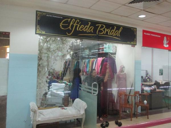 ELFIEDA BRIDAL Level 3 Johor Bahru (JB), Skudai Shopping Complex   Sineo Management Sdn Bhd