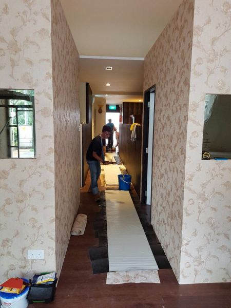 新加坡墙壁纸工程   Supplier, Suppliers, Supplies, Supply   Kim Curtain Design Sdn Bhd