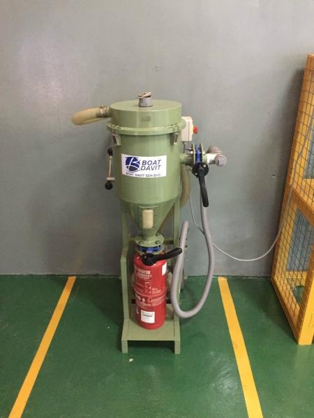 Dry Powder Refilling Station Firefighting Johor Bahru (JB), Johor, Malaysia Service, Inspections | Boat Davit Sdn Bhd
