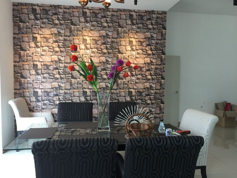 Stone Wallpaper  Johor Bahru (JB), Johor Supplier, Suppliers, Supplies, Supply | Kim Curtain Design & Decorating Enterprise