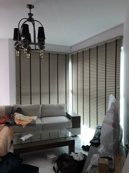 Timber/ PVC Venetian Blinds JB, Johor Bahru Design, Install, Supply | Babylon Curtain Design