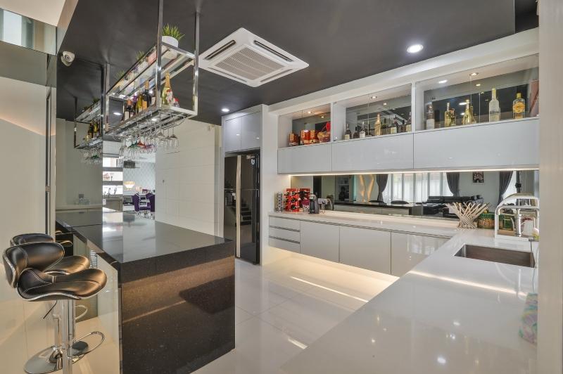 Dry Kitchen Design Selangor, Malaysia, Kuala Lumpur (KL), Klang Service, Design, Renovation | Jashen Interior Design Sdn Bhd