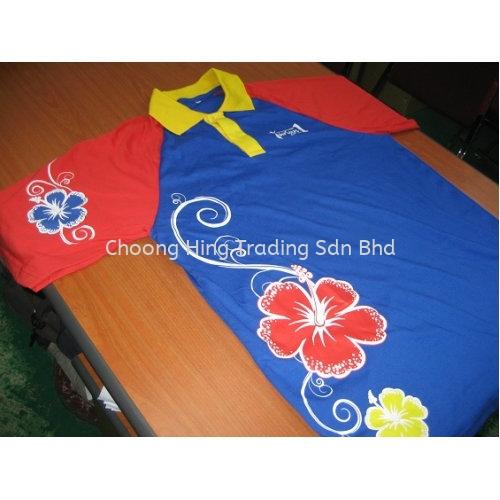 Customized T-Shirt Customized T-Shirt & Uniform Malaysia, Kuala Lumpur (KL), Selangor Supplier, Supply, Manufacturer | Choong Hing Trading Sdn Bhd