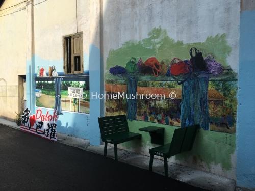 Wall Painting - KTM Paloh