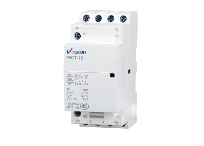 WCT 16A 4P 2NO2NC Contactor WCT Household Contactor Contactor Selangor, Malaysia, Kuala Lumpur (KL), Shah Alam Supplier, Suppliers, Supply, Supplies | Winston Electric