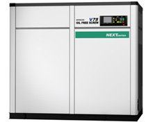 Oil-Free Screw ( 15 to 240 kW ) ( DSP ) Hitachi Screw Compressor Penang, Malaysia, Seberang Jaya Supplier, Suppliers, Supply, Supplies | Iase Trading Sdn Bhd