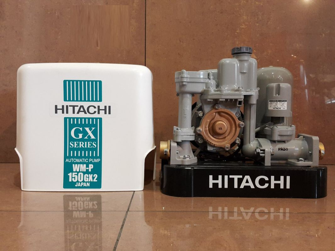 Hitachi WM-P150GX2 150W Automatic Water Pump for Shallow Well  ID119381