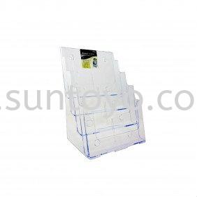 A4 4 Compartments Brochure Holder Brochure Holders & Information Holders Johor Bahru (JB), Malaysia, Johor Jaya, Taman Sentosa Supplier, Suppliers, Supply, Supplies | Suntoyo Enterprise (M) Sdn Bhd
