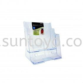 A5 2 Compartment Brochure Holder Brochure Holders & Information Holders Johor Bahru (JB), Malaysia, Johor Jaya, Taman Sentosa Supplier, Suppliers, Supply, Supplies | Suntoyo Enterprise (M) Sdn Bhd