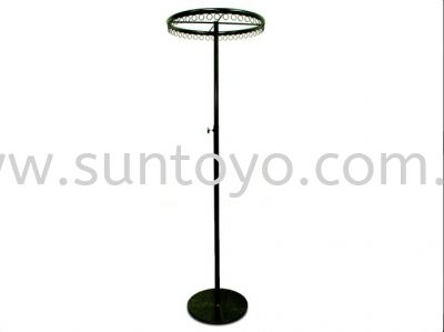 18 inches Black Ring Stand