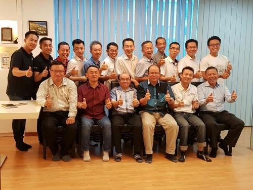 马来西亚净水协会第一届第四次理事会议 121216
