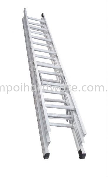 Triple Extension Aluminium Ladder  Ladders Johor Bahru (JB), Malaysia, Tampoi Supplier, Suppliers, Supply, Supplies | Tampoi Hardware Sdn Bhd