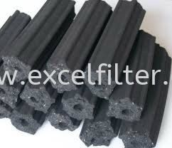 Smokeless Carbon & Briquette-Hexagon Shape Smokeless Carbon & Briquette Media Materials Selangor, Malaysia, Kuala Lumpur (KL), Cheras Supplier, Suppliers, Supply, Supplies | Excel Filter Sdn Bhd