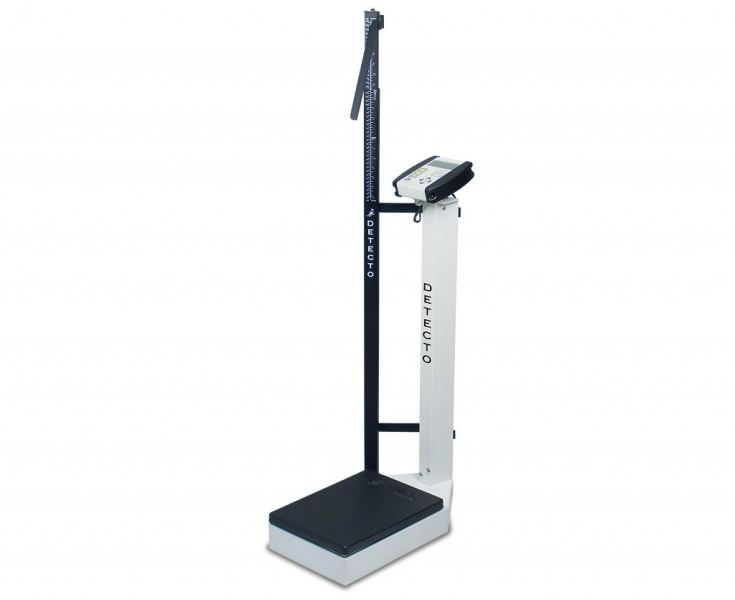 DETECTO DIGITAL SCALE-WAIST HIGH WITH HEIGHT ROD - 180KG, 6129 DETECTO PERSONAL SCALES Johor Bahru (JB), Malaysia Supplier, Suppliers, Supply, Supplies | Resett Sdn Bhd