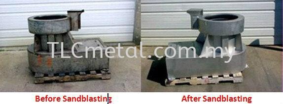 Sand Blasting Service Seremban, Negeri Sembilan (NS), Malaysia Fabrication, Manufacturer, Supplier | TLC METAL SOLUTION SDN BHD