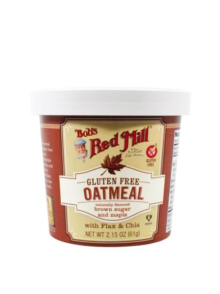 Oatmeal Cup - Maple Brown Sugar Oats, Cereal and Granola Bobs Red Mill Malaysia, Selangor, Kuala Lumpur (KL) Distributor, Wholesaler, Supplier, Supply | Ballun Distribution (M) Sdn Bhd