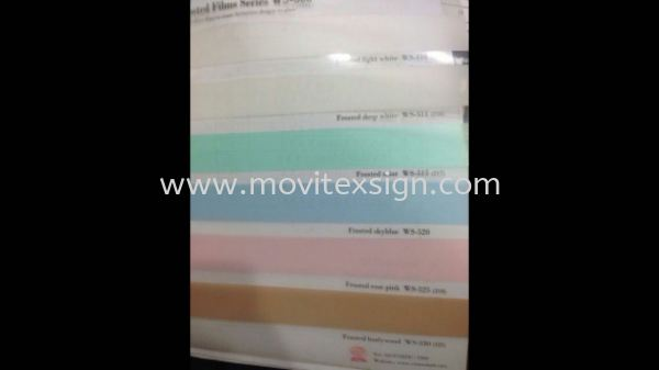 glass sticker for office, home or gerally with graphic printed or cutout hollow with many choice of sandblasted colour  Glass Display Johor Bahru (JB), Johor, Malaysia. Design, Supplier, Manufacturers, Suppliers | M-Movitexsign Advertising Art & Print Sdn Bhd