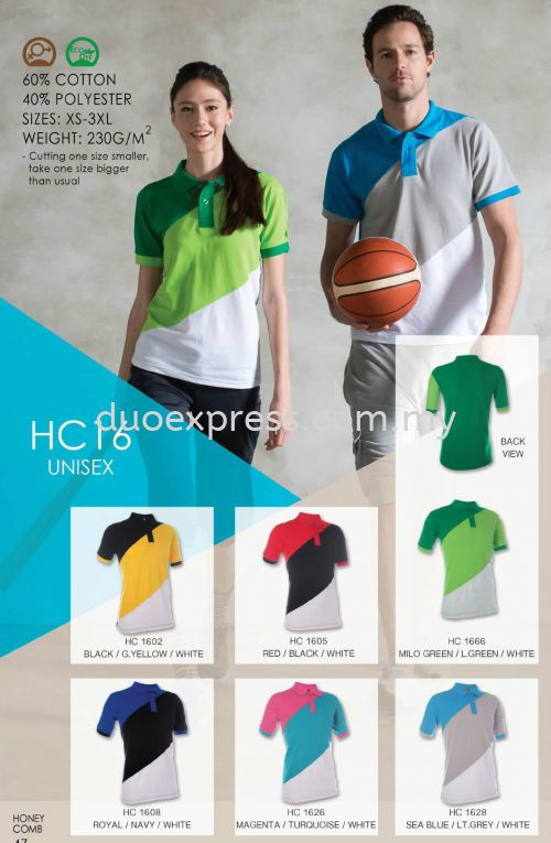 Polo T Shirt Cotton- ReadyMade HC-16