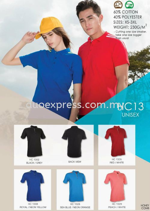 Polo T Shirt Cotton- ReadyMade HC-13