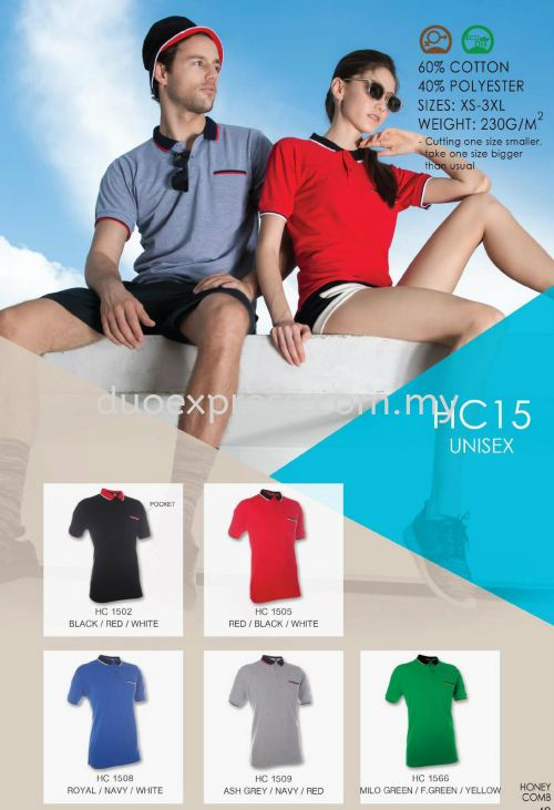 Polo T Shirt Cotton- ReadyMade HC-15