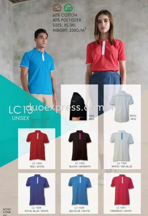 Polo T Shirt Cotton- ReadyMade LC-13