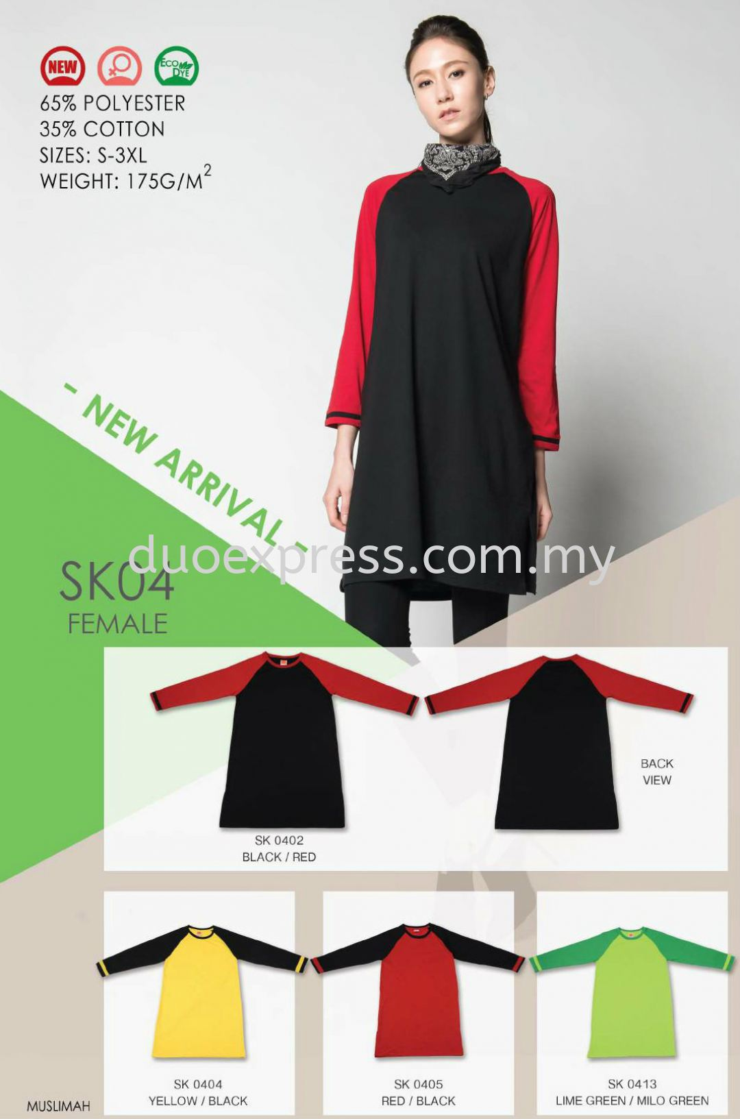 Muslimah Cotton- Ready Made SK-04