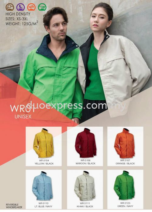 Windbreaker-Vest-Jacket WR-01