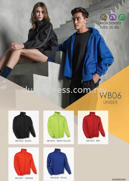 Windbreaker-Vest-Jacket WB-06