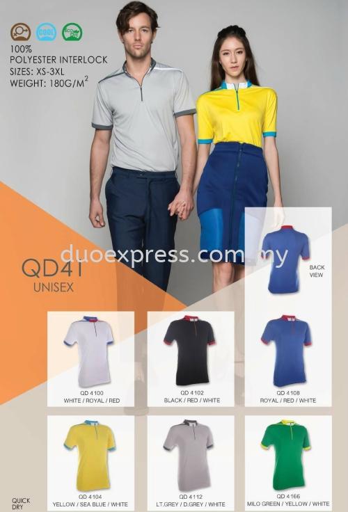 Polo T Shirt MicroFibre- Ready Made QD-41