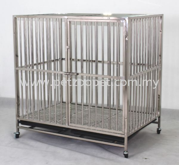 9314 Stainless Steel Dog Cage Pet Cage Malaysia, Selangor, Kuala Lumpur (KL), Shah Alam Supplier, Wholesaler, Exporter, Supply | Starcage Pet Products Sdn Bhd