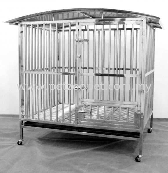 9315-2 Stainless Steel Dog Cage Pet Cage Malaysia, Selangor, Kuala Lumpur (KL), Shah Alam Supplier, Wholesaler, Exporter, Supply | Starcage Pet Products Sdn Bhd