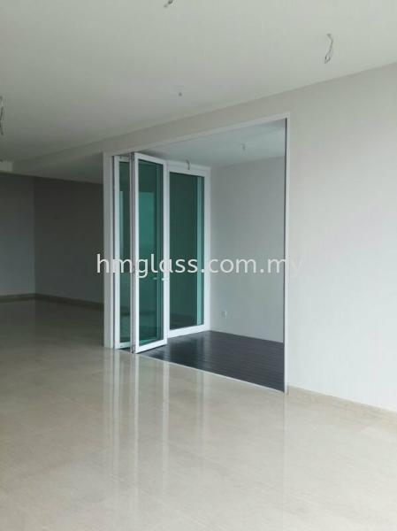 Folding Door Door Ampang, Selangor, Malaysia. Suppliers, Installation, Supplier, Supply   H M Glass Sdn Bhd