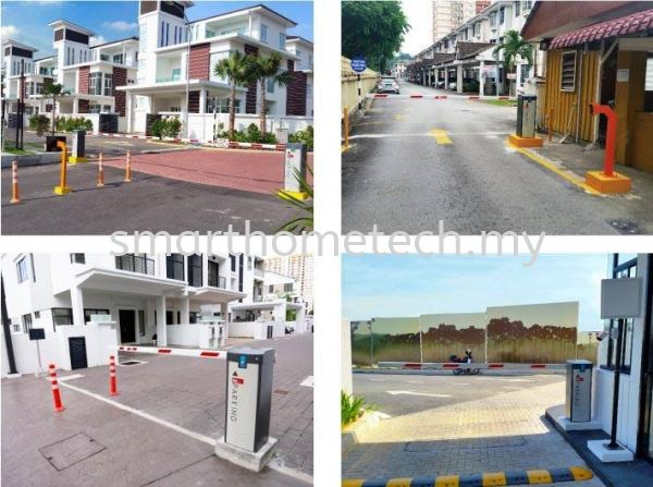 Barrier Gate System Barrier Gate System Melaka, Malaysia Supplier, Supply, Supplies, Installation | SmartHome Technology Solution