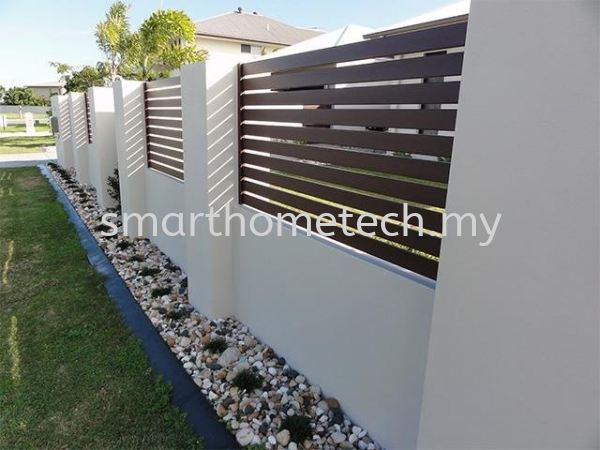 Aluminium Fencing Aluminium Fencing Fencing Melaka, Malaysia Supplier, Supply, Supplies, Installation   SmartHome Technology Solution