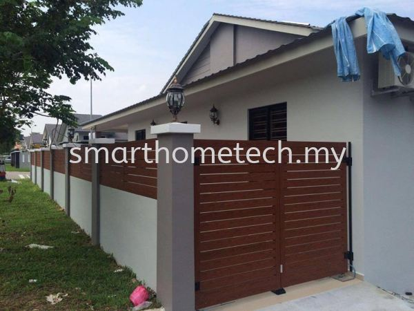 Aluminium Fencing Aluminium Fencing Fencing Melaka, Malaysia Supplier, Supply, Supplies, Installation | SmartHome Technology Solution