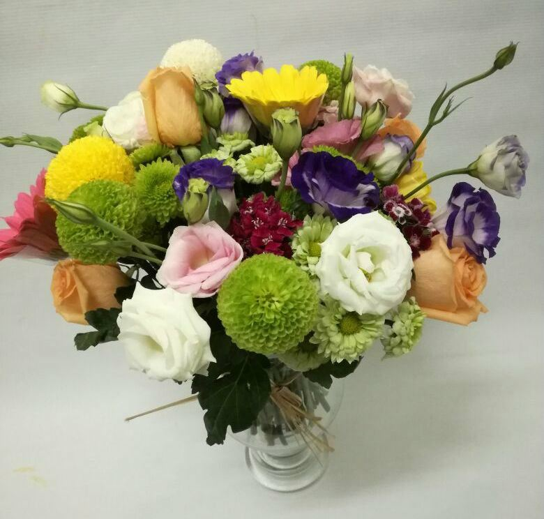 Mixed Flower Vase Arrangement (VA-020)