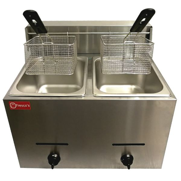Deep Fryer Gas Double Tank Deep Fryer Kuala Lumpur, KL, Malaysia Supply, Supplier, Suppliers | Fresco Cocoa Supply PLT