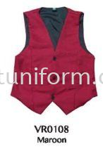 READY MADE VEST VR0108 (MAROON) POLYESTER Vest Selangor, Kuala Lumpur (KL), Malaysia Supplier, Suppliers, Supply, Supplies | GT Uniform Sdn Bhd