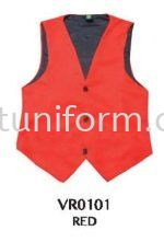 READY MADE VEST VR0101 (RED) POLYESTER Vest Selangor, Kuala Lumpur (KL), Malaysia Supplier, Suppliers, Supply, Supplies | GT Uniform Sdn Bhd