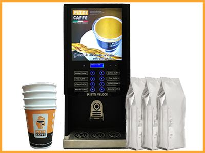 Event Coffee Machine Rental Exhibition Package C @ RM650 /Day