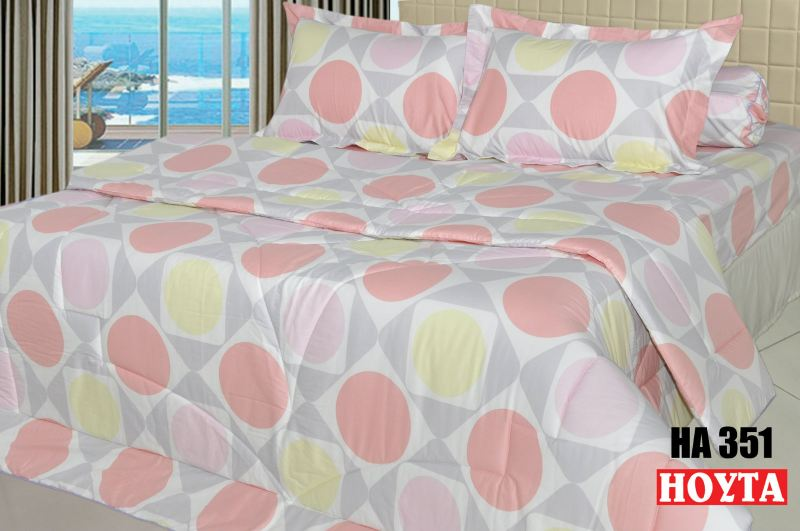 HA351 Full Cotton Printing Bed Sheet (HA) Bed Linen Penang, Malaysia, Butterworth Manufacturer, Supplier, Supply, Supplies | Hoyta Sdn Bhd