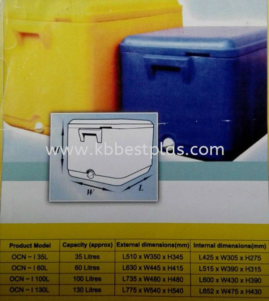Insulated Ice Box Insulated Ice Box & Polyfoam Ice Box Penang, Malaysia, Perak, Kepala Batas Supplier, Suppliers, Supply, Supplies | KB BestPlas Enterprise