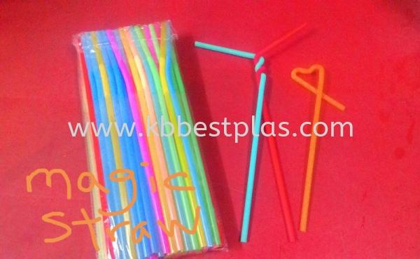 Magic Straws Straws Penang, Malaysia, Perak, Kepala Batas Supplier, Suppliers, Supply, Supplies | KB BestPlas Enterprise